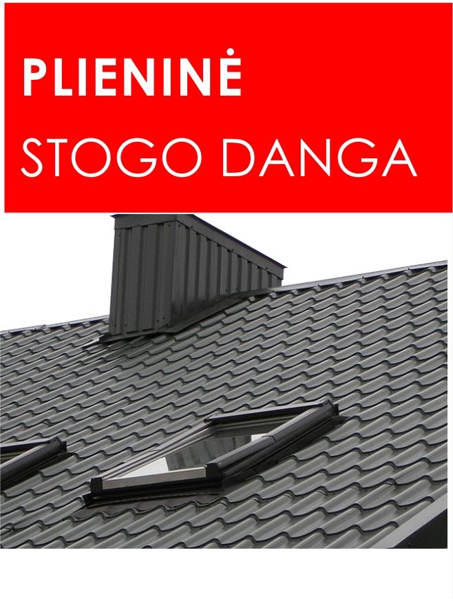 Plieninė stogo danga dangos